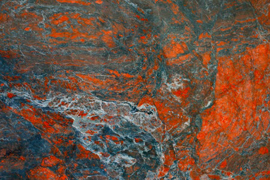 Granite: Indigo Blaze