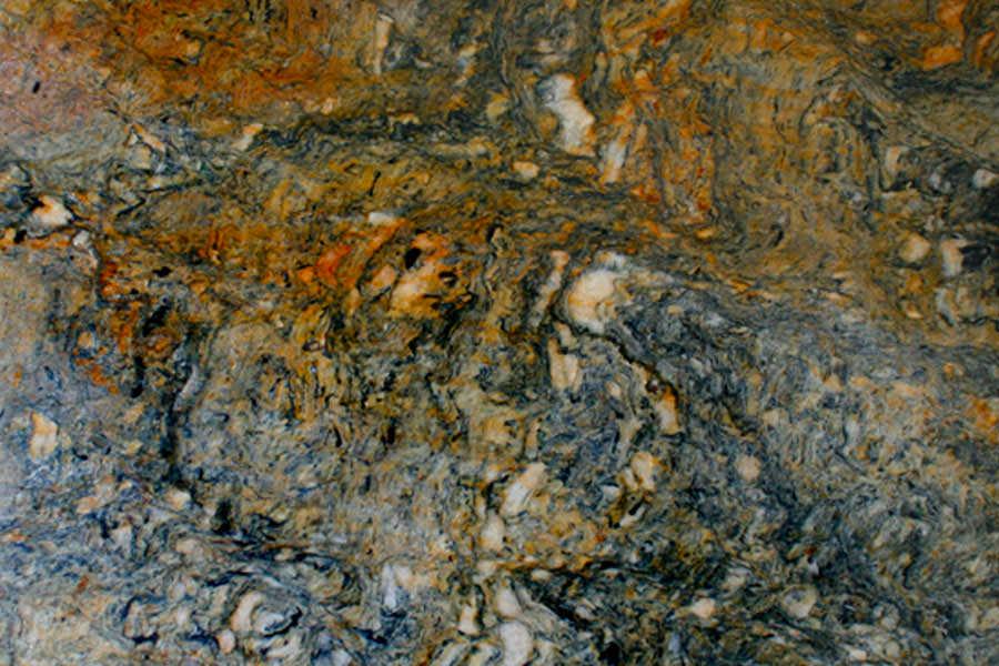 Quartzite: Vesuvio Oro